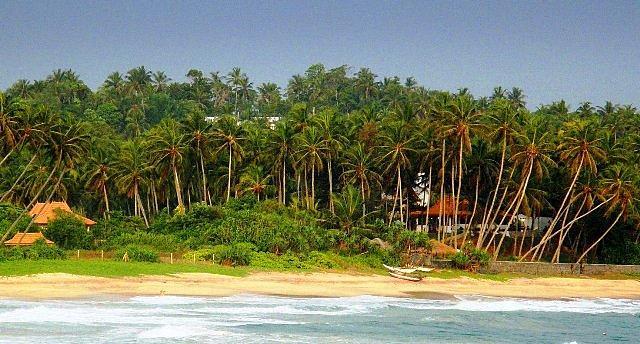Blick vom indischen Ozean