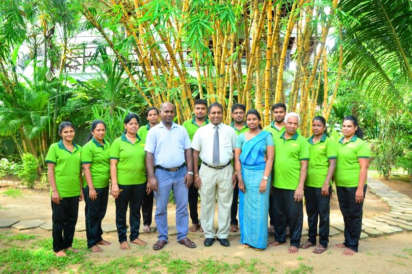 Das Team der Ayurvedavilla